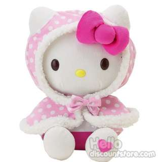 Sanrio Hello Kitty Cape Plush Doll / Toy Removal hoodie