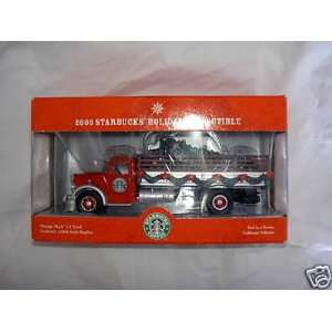 Vintage Mack LJ Truck   Die Cast Holiday Truck Toys