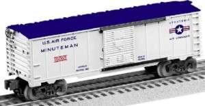 New Lionel 6 15063 Minuteman Rocket Operating Box Car