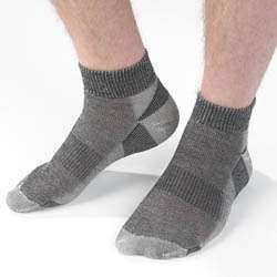 Organic Merino Wool Socks Urban Hiker Mid Calf or Ankle