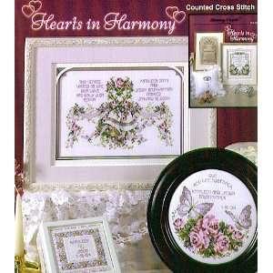 Hearts in Harmony   Cross Stitch Pattern: Arts, Crafts
