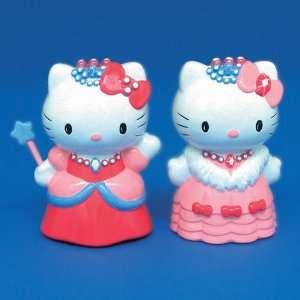 Set of 2 Pink Hello Kitty Dress Up Princess Porcelain