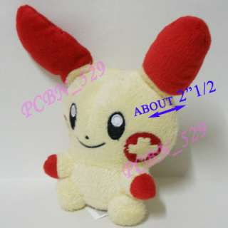 New Pokemon Plush Toy Doll Figure   Minun & Plusle