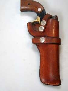 PF 20 BUCHEIMER Gun Holster 22 Single Action RUGER Bearcat & SAVAGE