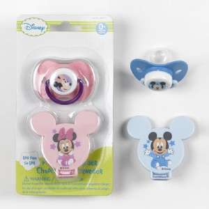 new walt disney mickey mouse or minney mouse pacifier