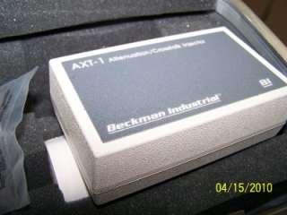 BECKMAN TMT 1 TRANSMISSION MEDIA LAN CABLE TESTER PTR 1