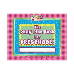 THE DAILY PLAN BOOK FOR PRESCHOOL: Toys & Games