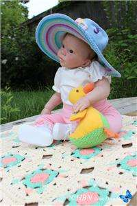ANNIE REBORN Doll ~ Vinyl Doll Kit by Donna Rupert 9 month old SIZE