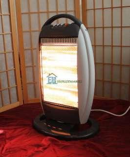 Halogen Heater Portable Electric 1200W 800W 400W Safe Quality Light