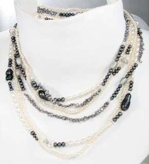 Kabana Sterling Silver Freshwater Pearl Angel Cherub Brooch Designer