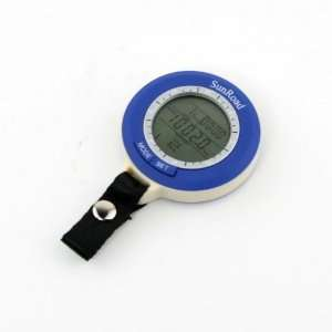 Digital LED Fishing Barometric Barometer Altimeter w/ Time