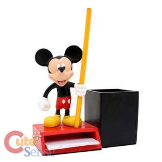 Disney Mickey Mouse Resin Figure Memo Pencil Holder 1