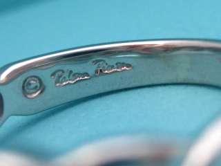 TIFFANY & CO. PALOMA PICASSO DOUBLE LOVING HEART RING 7