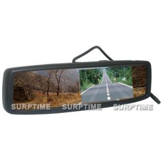 Security 4.3 inch TFT LCD Car Rear View Mirror Monitor 16:9 Display