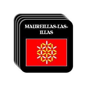 MAUREILLAS LAS ILLAS Set of 4 Mini Mousepad Coasters: Everything Else