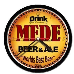 MEDE beer and ale cerveza wall clock Everything Else