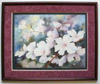 Huge Brenda Harris Tustian Signed Limited Print w Frame
