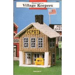 Plastic Canvas Village Keepers: Mary Layfield: Books