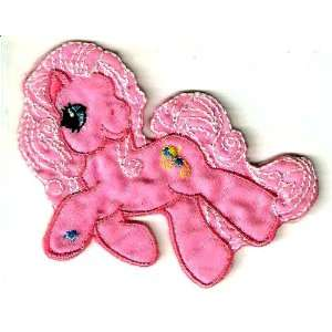 My Little Pony pink horse Embroidered Iron On / Sew On
