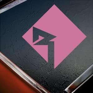 Rockford Audio Pink Decal Car Truck Bumper Window Pink