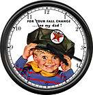 Texaco Gas Service Station Attendant Hat Retro Vintage Boy Pump Sign
