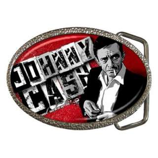 Johnny Cash Legend Chrome Belt Buckle Cool Collector Gift Free