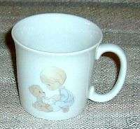 Enesco Precious Moments Jonathan David Ceramic Mug 1984