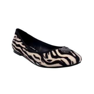 Womens Twenty10 Sanrio Hello Kitty Laurel Zebra Flats Dress Shoes