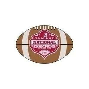 Alabama Crimson Tide ~ 2011 BCS CHAMPS ~ 22 x 35 FOOTBALL