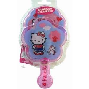 Hello Kitty Hair Brush & Mirror Set (Kitty & Poodle) Toys & Games