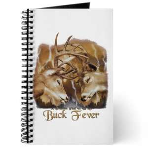 Journal (Diary) with Buck Fever Deer Hunting on Cover