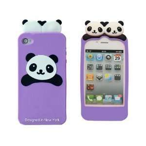 LCE Cute PANDA Soft Silicon Back Case Cover skin for