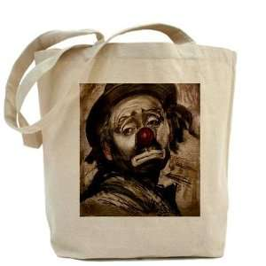The Sad Clown Funny Tote Bag by CafePress: Beauty