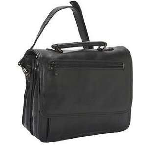 La Diva 8361HBRW Multi Functional Organizer Half Flap Bag