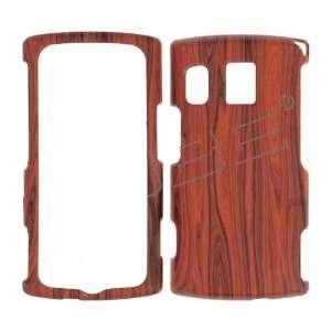 Premium   Kyocera M6000/ Zio  Wood Grain Rubberized Design