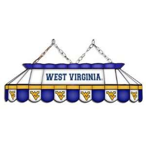 Virginia Mountaineers 40 MVP Full Size Stained Glass Pool Table Lamp