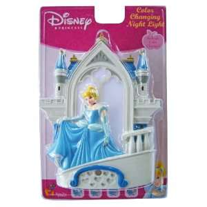 Disney Princess Cinderella Color Changing Night Light Toys & Games