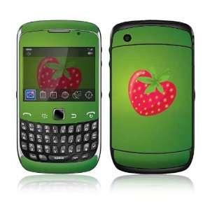 BlackBerry Curve 3G Decal Skin Sticker   StrawBerry Love