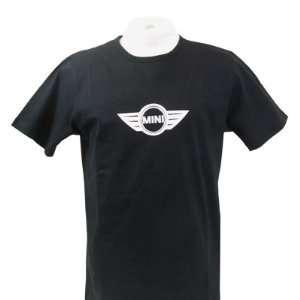 MINI Cooper Logo Mens Medium Black T shirt Automotive