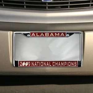 Alabama Crimson Tide 2009 BCS National Champions Chrome Crimson
