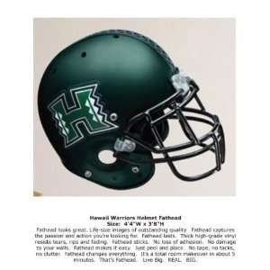 Wallpaper Fathead Fathead College team Logos Hawaii Helmet