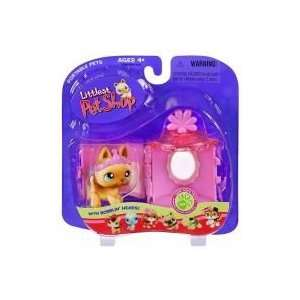 LITTLEST PET SHOP Portable Pets Dog with Vanity Toys & Games