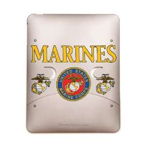 iPad 5 in 1 Case Metal Bronze Marines United States Marine