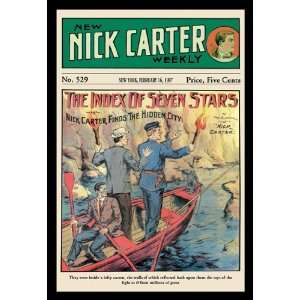 Nick Carter The Index of Seven Stars 24X36 Canvas Giclee Home