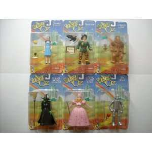 , Tin Man, Cowardly Lion, Wicked Witch, and Glinda the Good Witch