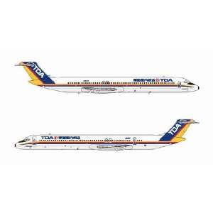 Jet X TDA MD 80 JA8497 Model Airplane