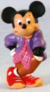 1987 Disney MICKEY MOUSE by BULLY W Germany PVC FIGURE