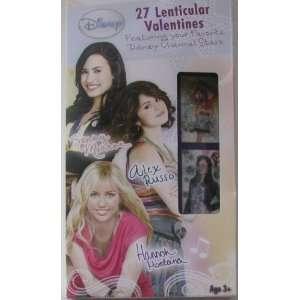 Valentines Day Disney Tv Stars 27 Lenticular Valentine Cards   Hannah