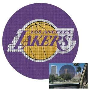Los Angeles Lakers Perforated Window Decal