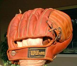JIM PIERSALL WILSON PERSONAL MODEL BASEBALL GLOVE